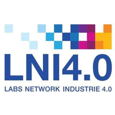 Logo des LNI4.0 Labs Network Industrie 4.0